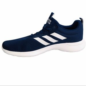 NEW Adidas Mens Cloudfoam Sneakers Blue Lite - 12
